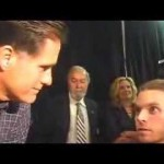 Gov. Mitt Romney meets a medical marijuana patient