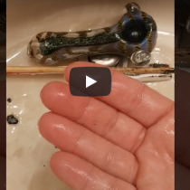 How to clean a marijuana pipe